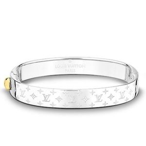 Louis Vuitton monogram bracelet cuff